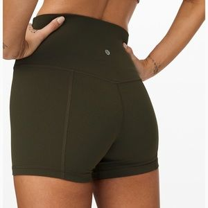 Lululemon Boogie Roll Down Spandex Shorts